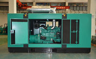 50Hz Land Use 250kw Soundproof Diesel Generator 380 / 220V With Deepsea Controller