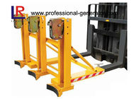 360 * 3 KGS Grab Mounted Drum Loader Forklift Attachment with Built - in Fork Positioner