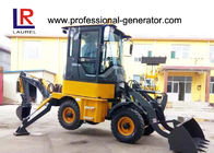 1Ton Heavy Construction Machinery , Backhoe Wheel Loader with 50HP YUNNEI Engine