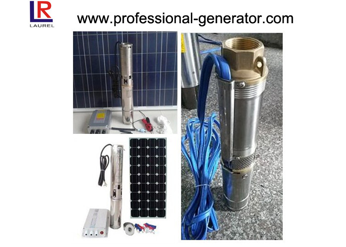 Stainless Steel Heavy Duty Solar Agricultural Water Pump 3HP Solar Submersible