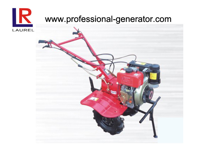 170F Diesel Engine Mini Tractor Tillers And Cultivators For Rotary Tillage Fertilizing
