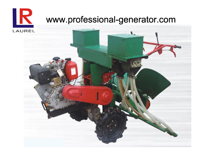 Cole Seeder Planter Machine , 186F Diesel Engine Agricultural Tools And Equipment