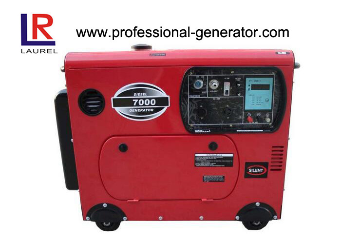 5kVA / 6kVA Super Silent Type Portable Diesel Generator with Four Stroke Engine Self - excited