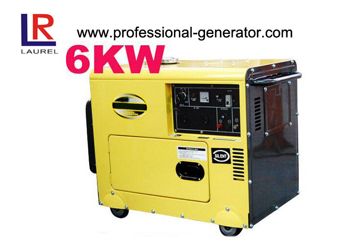 Soundproof Diesel Generator Silent  6kW- 7kW Electric Start 3000RPM