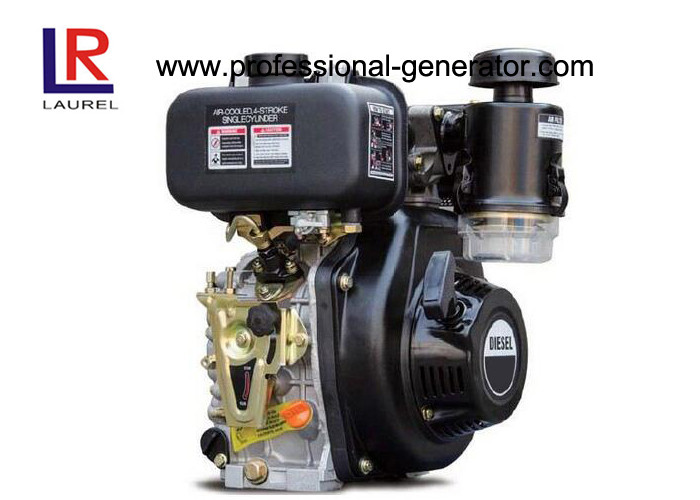 Air Cooled 5.5HP Industrial Diesel Engines with Vertical Single Cylinder