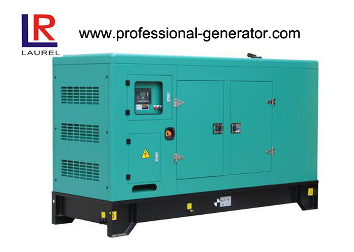 120kw Super Silent Diesel Generator Set Soundproof Type with Leroy Somer Alternator