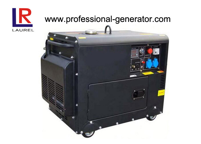 Electric Start 5kw Silent Diesel Generator Supplier of Power with LED or LCD Display
