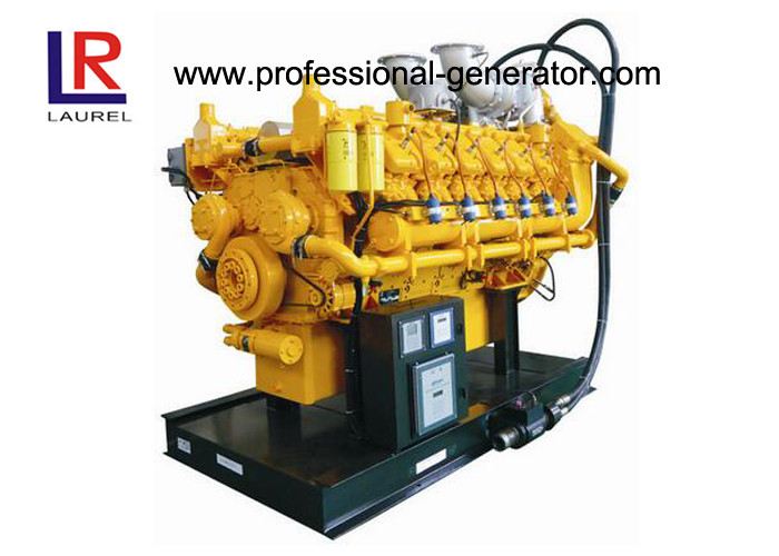 625kw 50Hz Natural Gas Electricity Generator Water Cooled 1500rpm with AC Three Phase