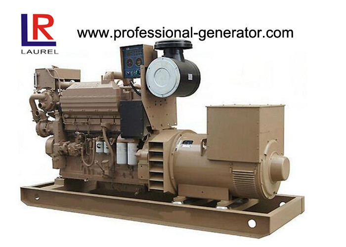 Water Cooled 50KVA / 40KW CCS Marine Diesel Generator with Cummins Engine