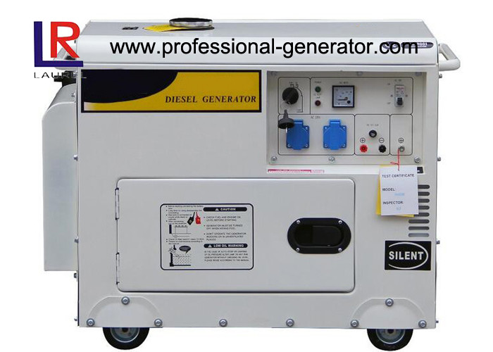 Laurel Power 50HZ / 60HZ Low RPM 6kw Diesel Electric Generator 110V / 220V