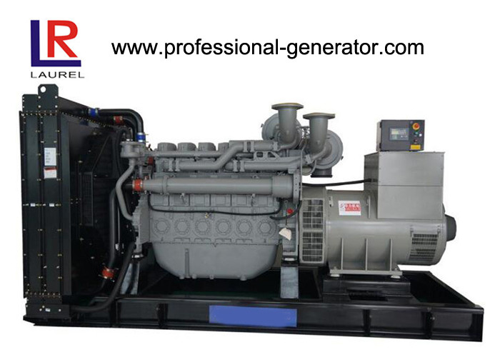 4 Stroke 1250kVA Diesel Generator Perkins With Water Cooled Cooling System