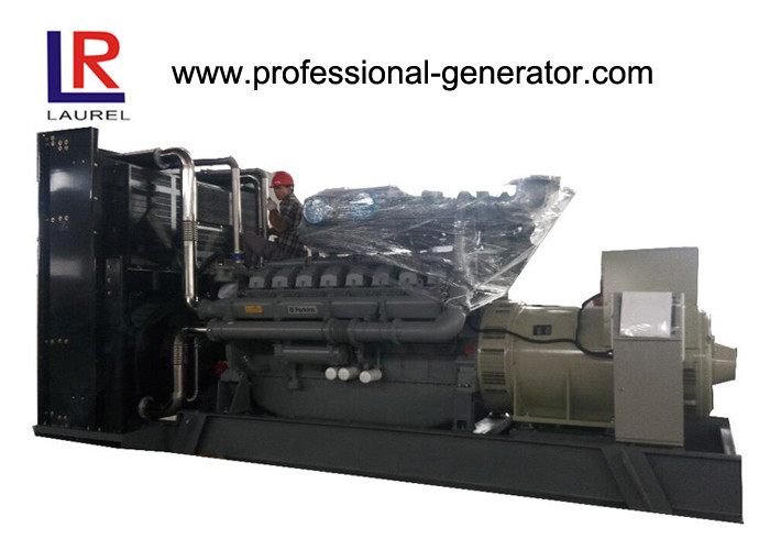 AC 3 Phase Open Type 1850kVA Diesel Perkins Power Generator With Electronic Speed Governor
