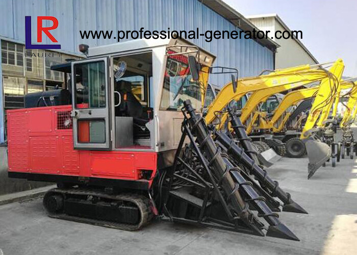 High Efficient 95.6kw Whole Stalk Combine Sugarcane Harvester with Compact Design