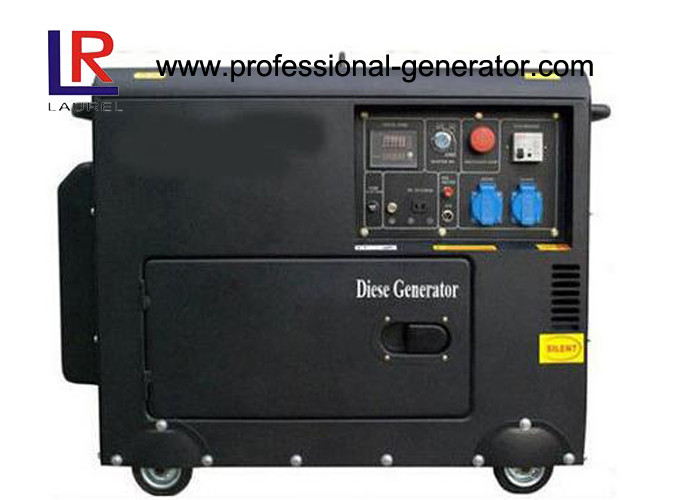 Single / Three phase Diesel Generator 5.5kw Elelctric Start with Bettery