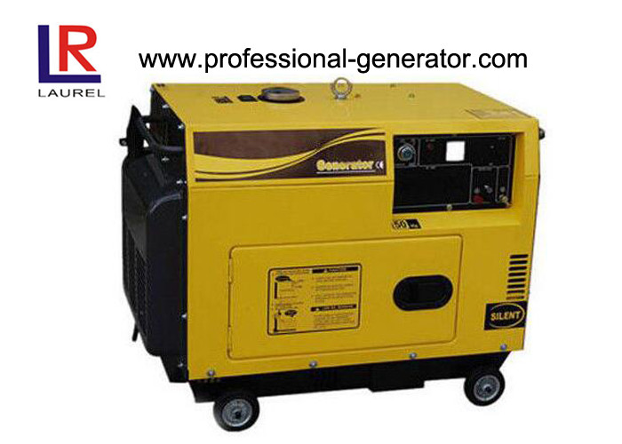 2KW Soundproof Diesel Single Cylinder Generator 4 Stroke Air-cooled Diesel Engine