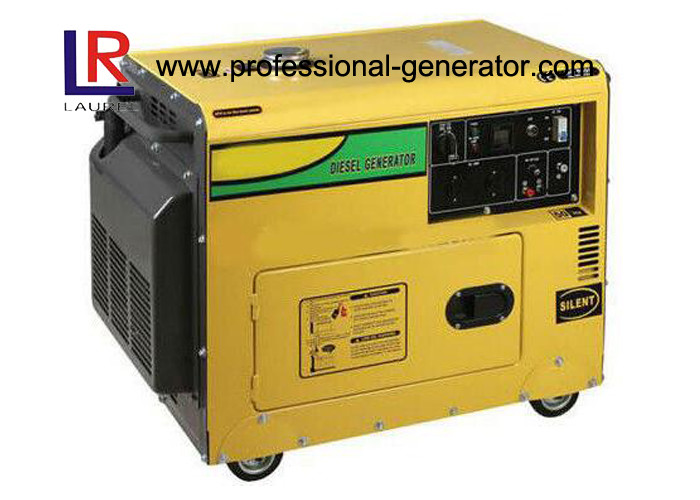 Compact Open Structure Portable Small Super Quiet Diesel Generators 2.2kW AVR