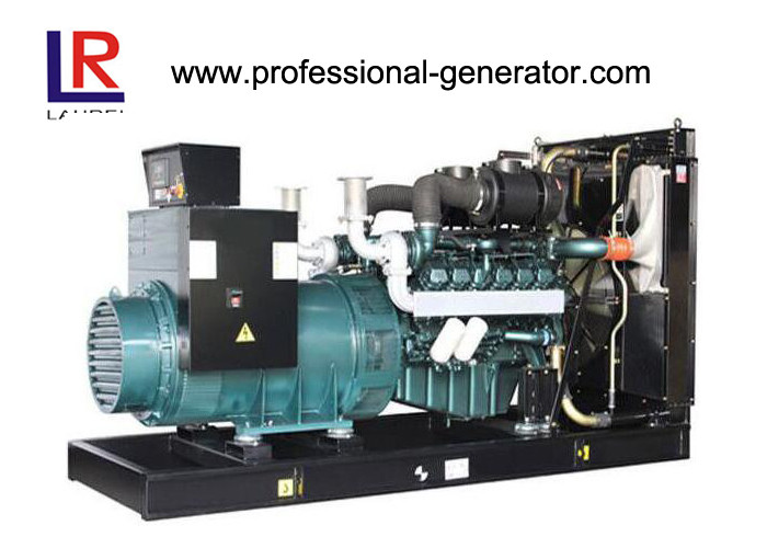 Hi-strength Base Frame Water Tank Radiator Doosan Diesel Gensets Single / Three Phase with Diesel Engine 48KW-600KW