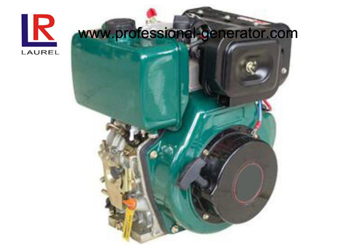 Single Cylinder Vertical Diesel Engine 4 Stroke Air Cooled 4.5HP With Direct Injection