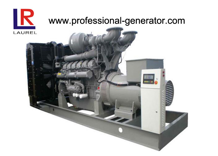 Powerful Open Diesel Generator 6 Cylinders 400 / 230V Diesel Powered Generator Set