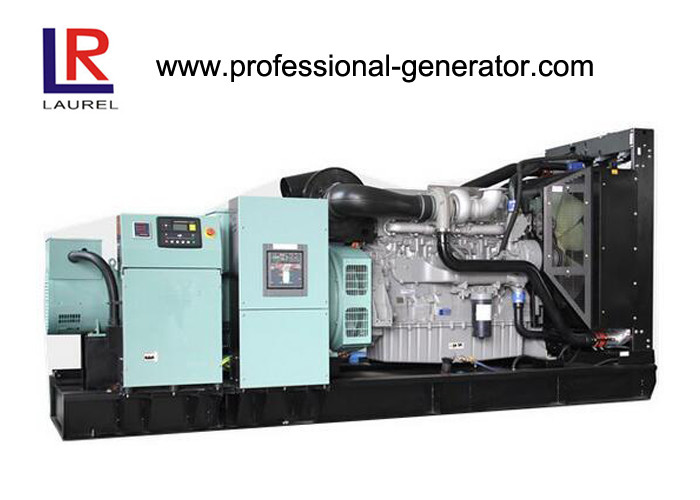 Electrical 350 kVA Water Cooled Open Diesel Generator 280KW With Stamford Alternator