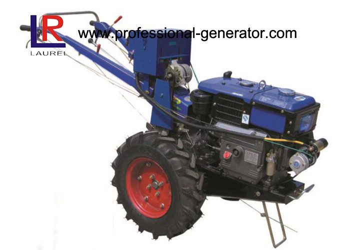 Mini Diesel Good Quality Farm 10HP Small Walking Tractor Hand Operated Electric Start