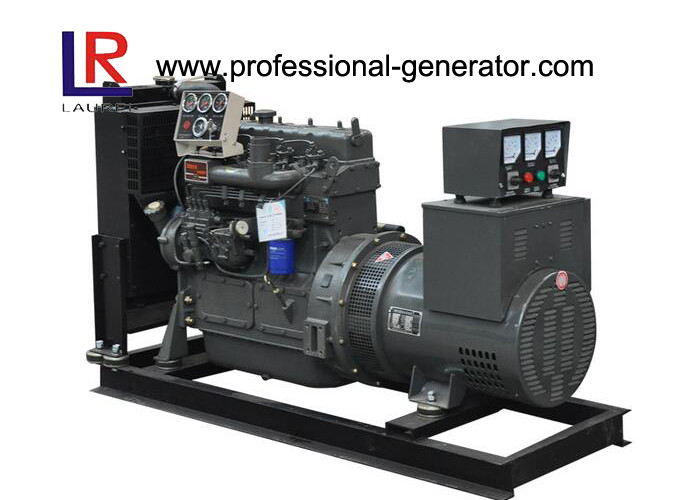 4 Cylinders Single Phase 37.5kVA Open Diesel Generator Powered by Water - Cooled Yuchai Engine