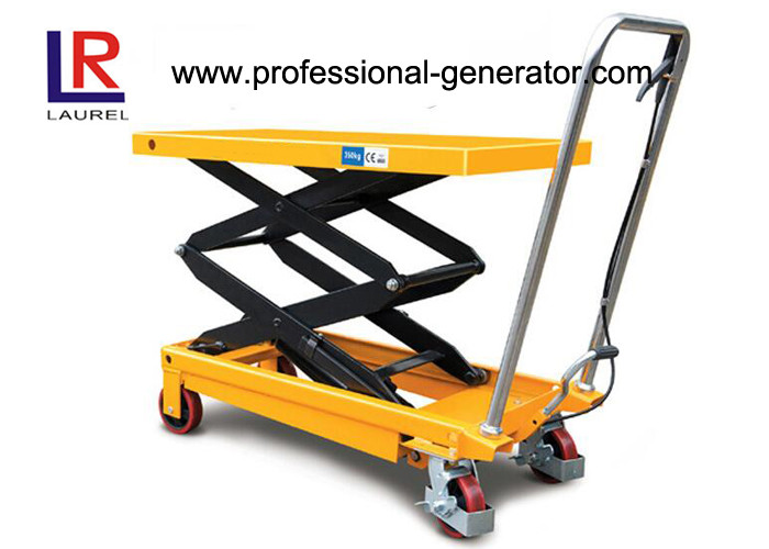 Aerial Work Platform Double Scissor High Lift Lift Table For High Place Operation