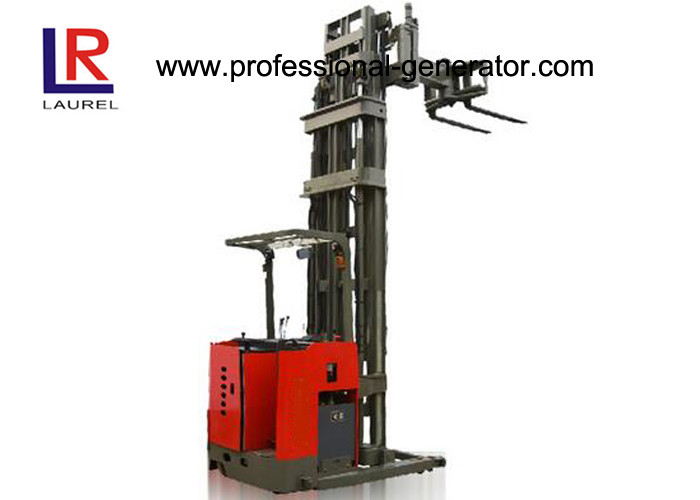 Storage Warehouse Material Handling Equipment 1 Ton Forklift With Narrow Aisle / High Shelf