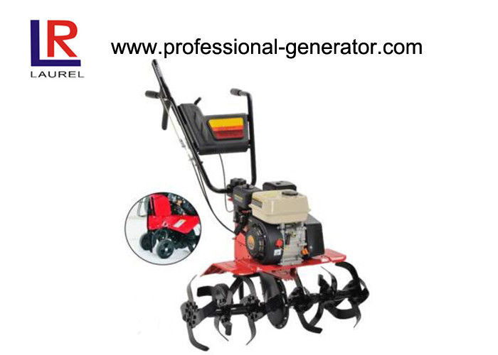3.6L Tractor Tillers and Cultivators , Remote Control 6.5HP Gasoline Cultivator Rotavator Tiller With 196cc